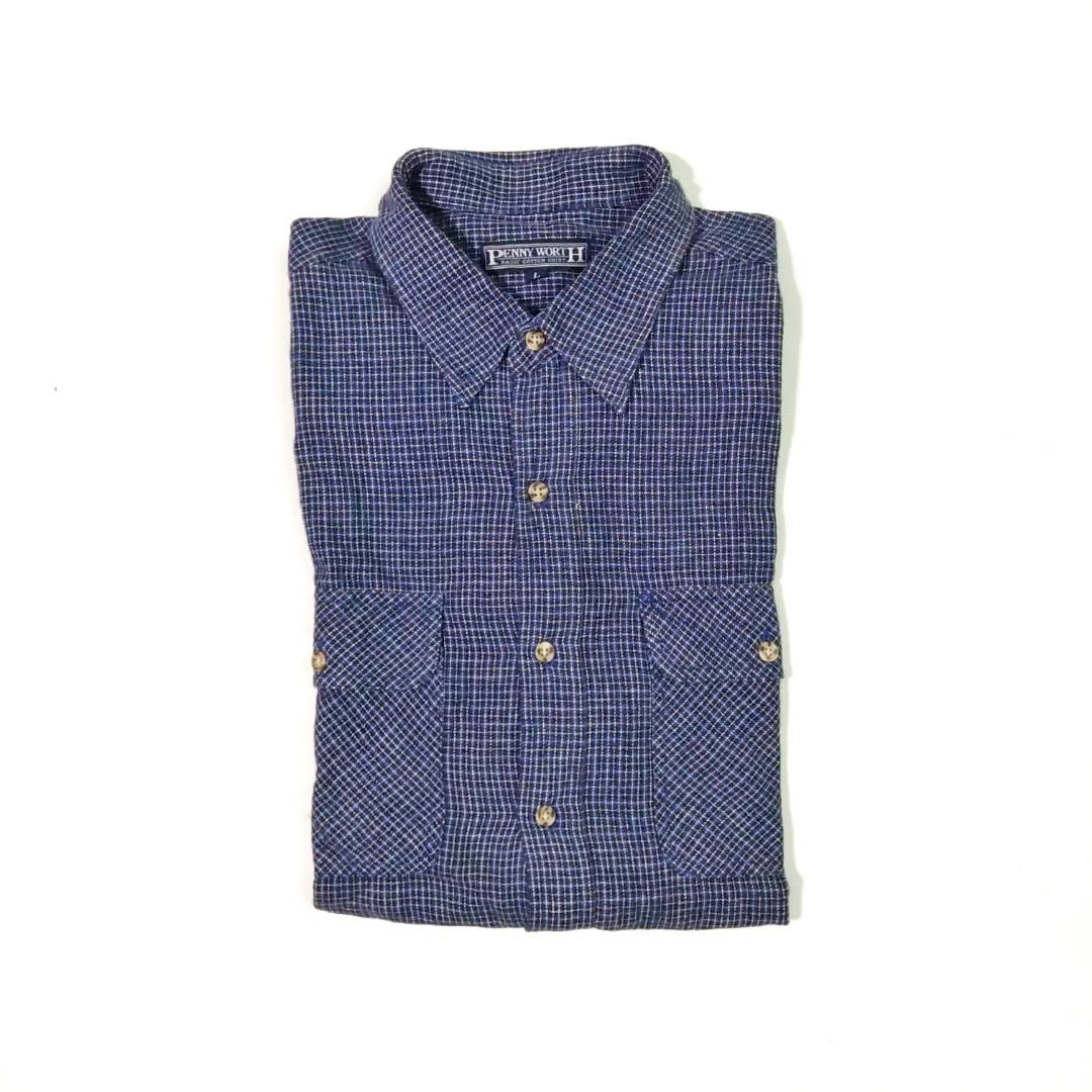 #mauthr Penny Worth Flannel Shirt not Uniqlo