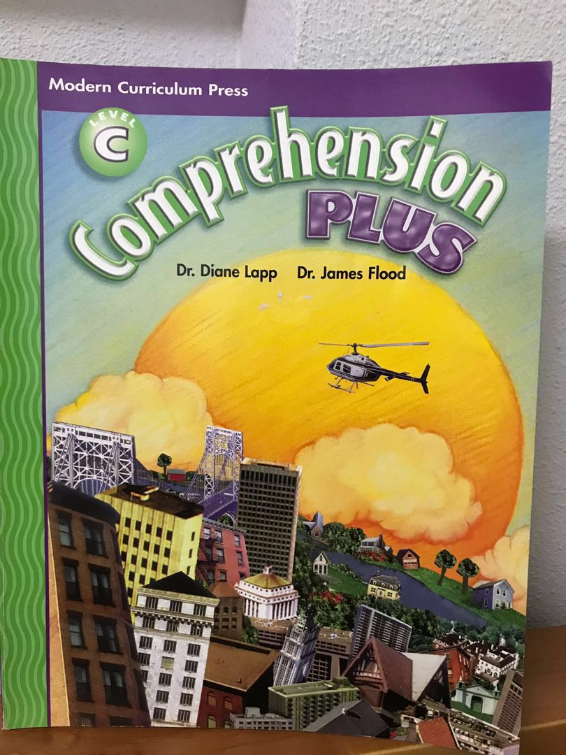 Modern curriculum press comprehension plus level C not scholastic primary  school books Evan Moor