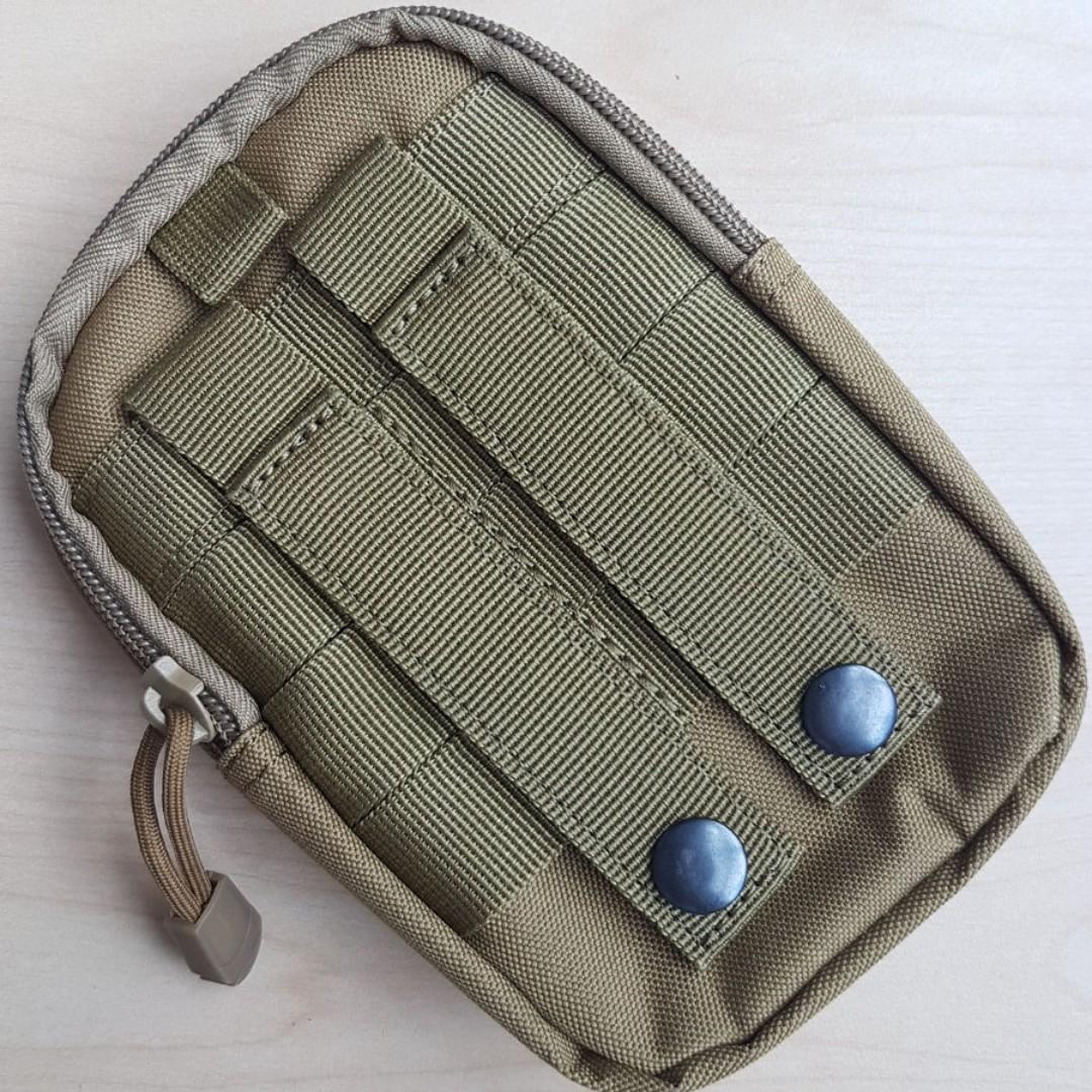MOLLE-Compatible Green Pouch (Free Local Mailing)