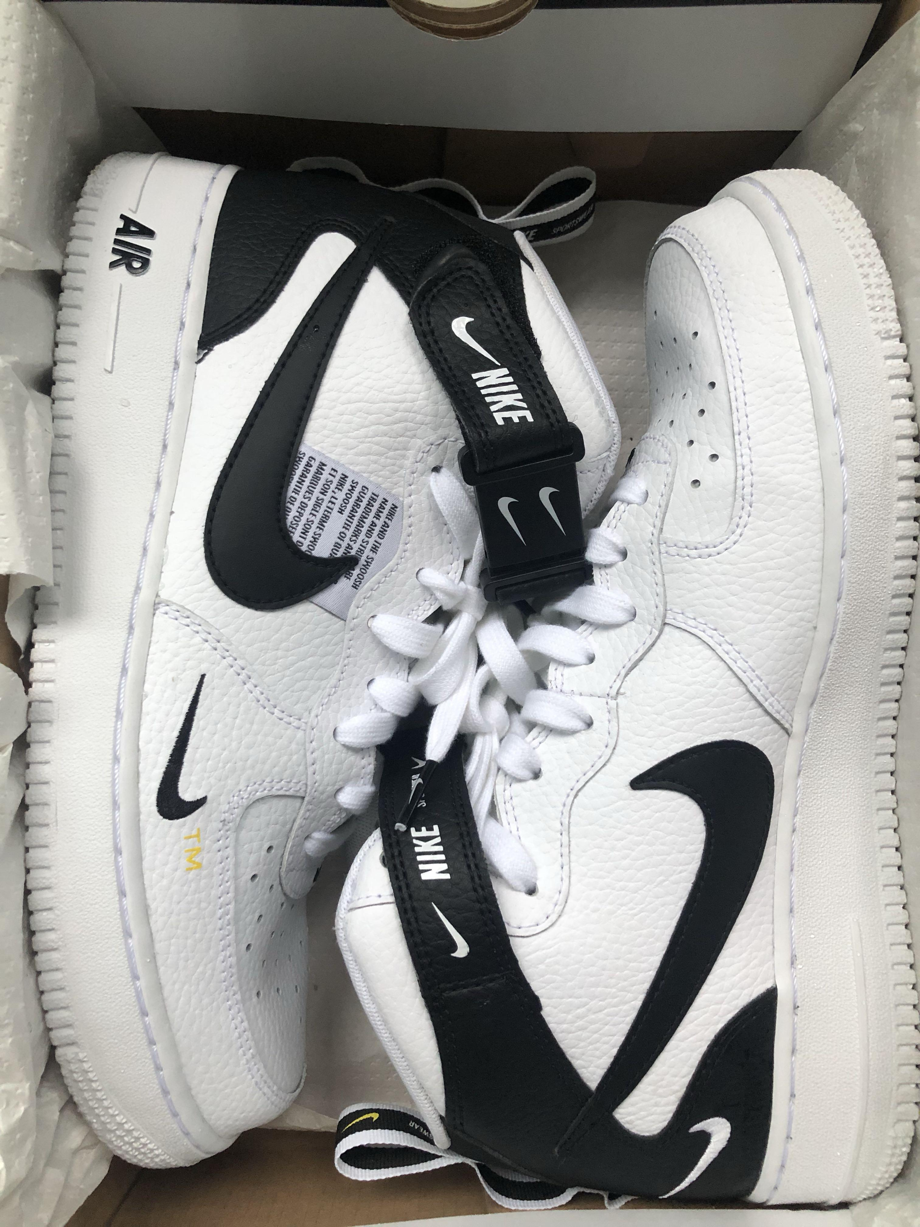 Sindicato Irradiar martillo  Nike Air Force 1 mid '07 utility (high cut), Men's Fashion, Footwear,  Sneakers on Carousell
