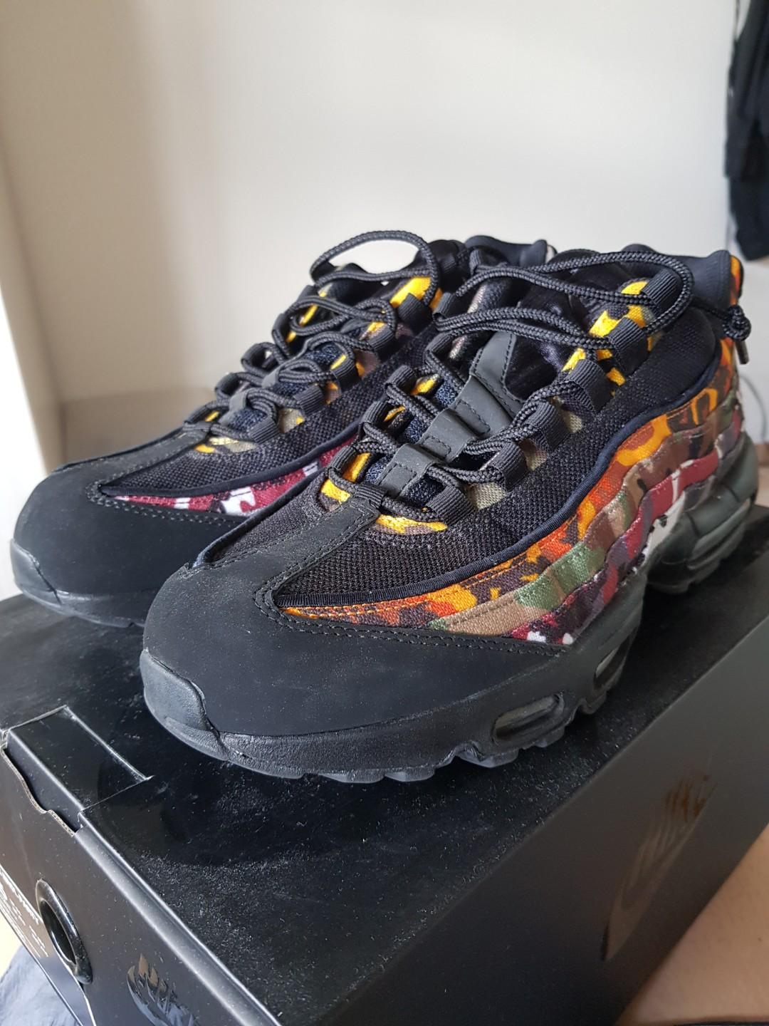 low priced 704b4 4d603 Nike Air Max 95 ERDL Party Black, Men's Fashion, Footwear ...