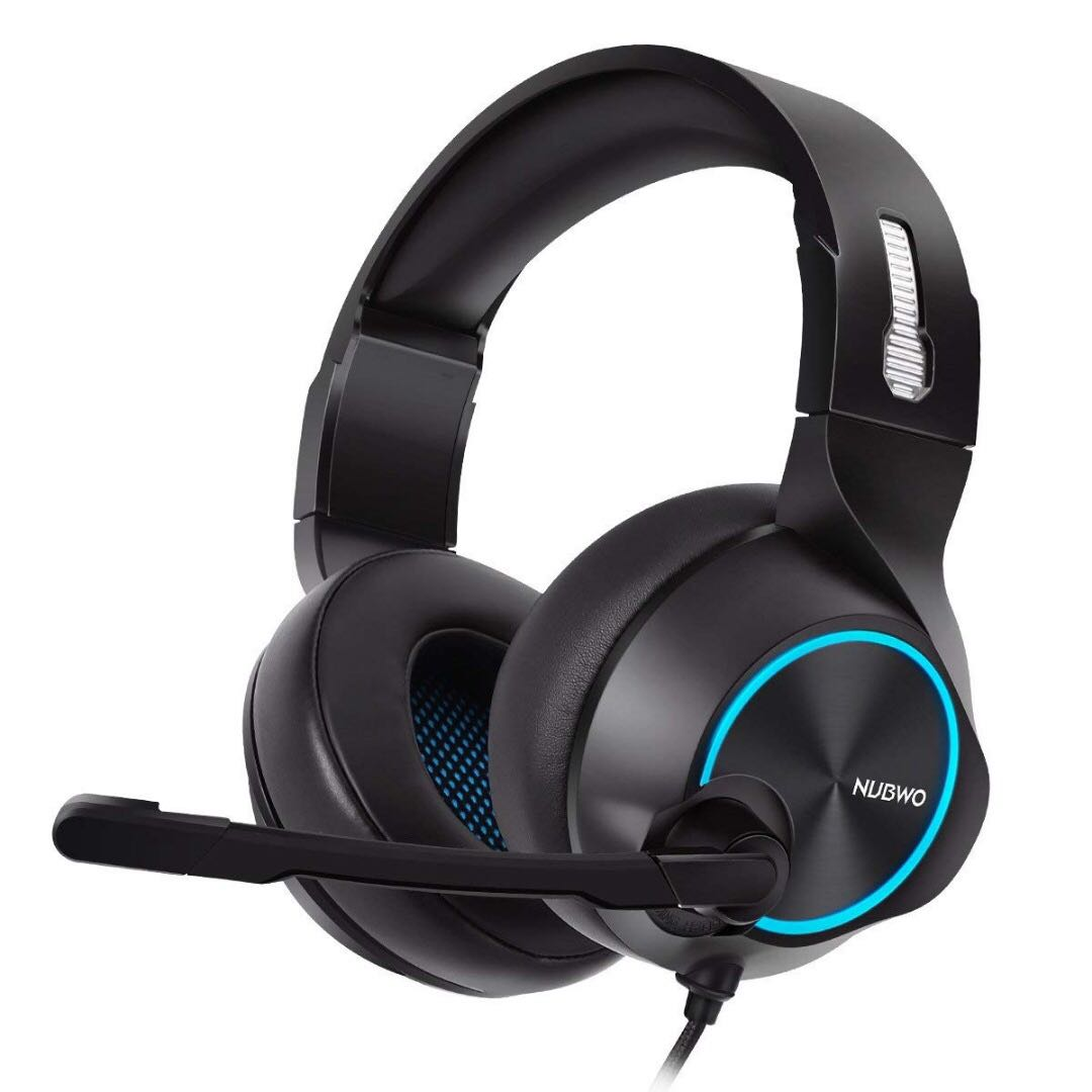 NUBWO 7 1 Gaming Headset for PC, PS4 Headset with Mic Surround Sound USB  Gamer Headphones Microphone Skype Playstation 4 PS4 PRO Computer Games Chat