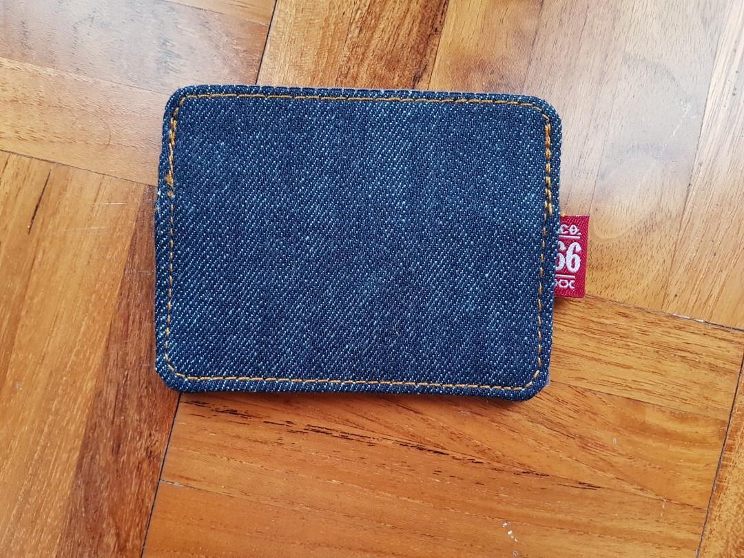 Oldblue old blue denim card wallet dompet kartu bukan voyej born goods revolt show your hem lthrkrft