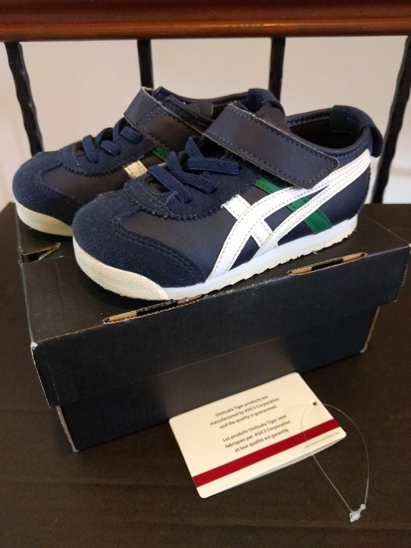 finest selection 5f8b4 b554c Onitsuka Tiger Kids Mexico 66 TS US K8 (Peacoat/White ...