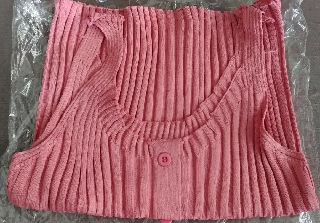 Pink Tanktop Knitt