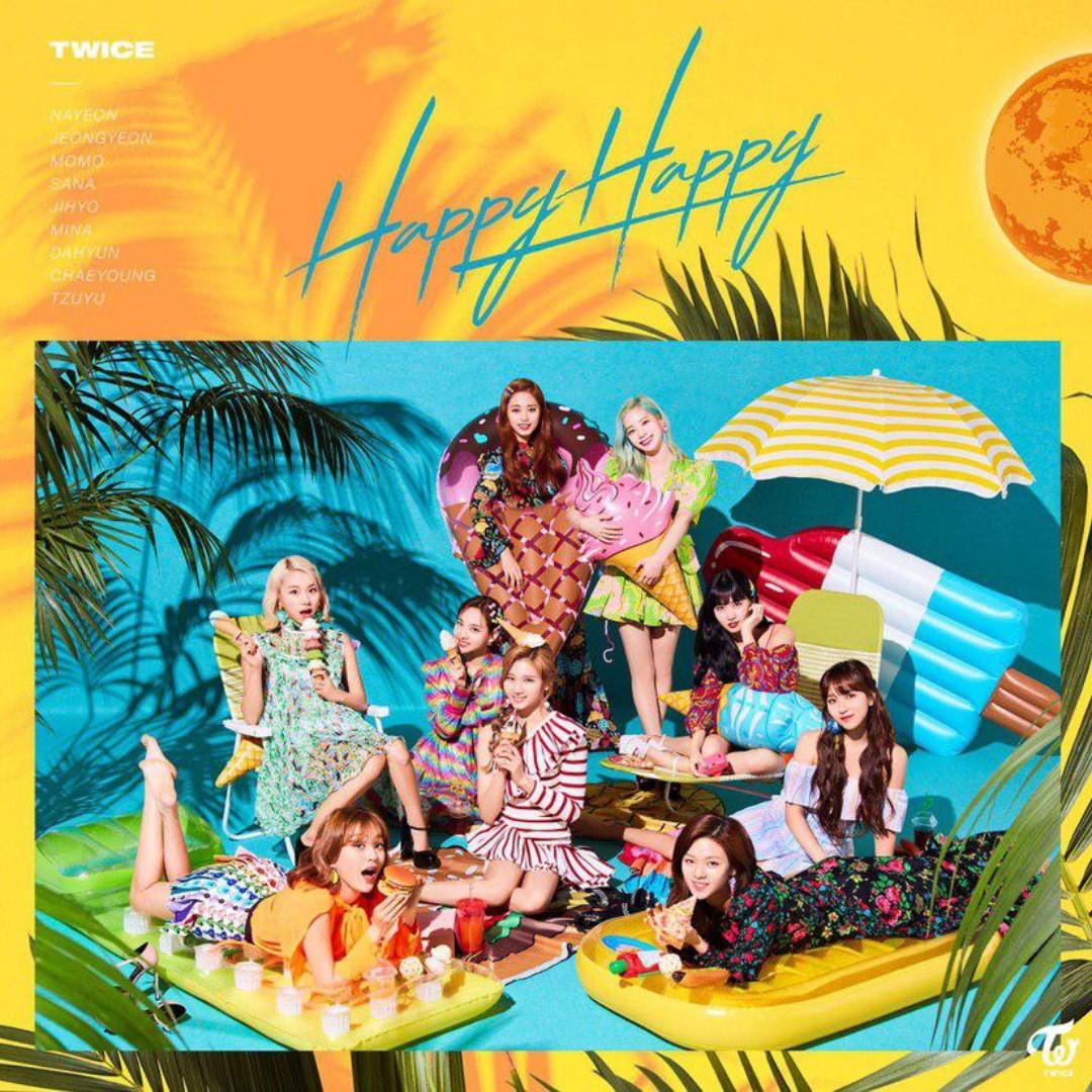 [PO] [JAPAN] TWICE - HAPPY HAPPY
