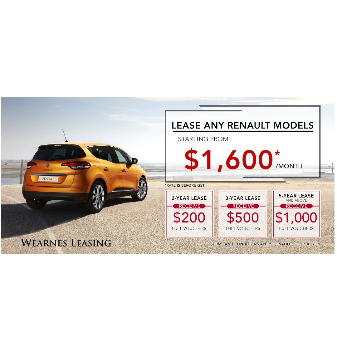 Renault Leasing Promotion