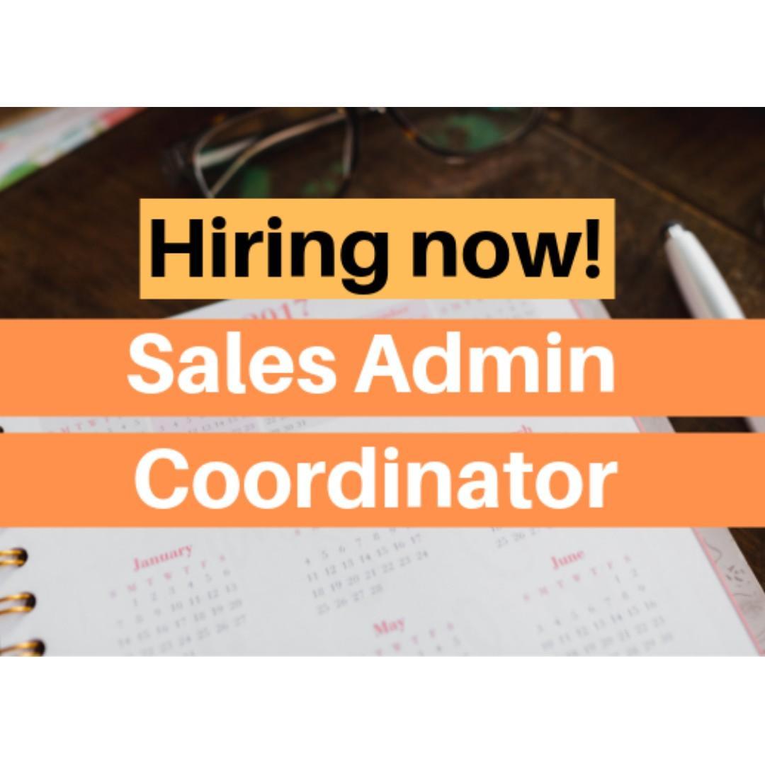 Sales Administration Coordinator