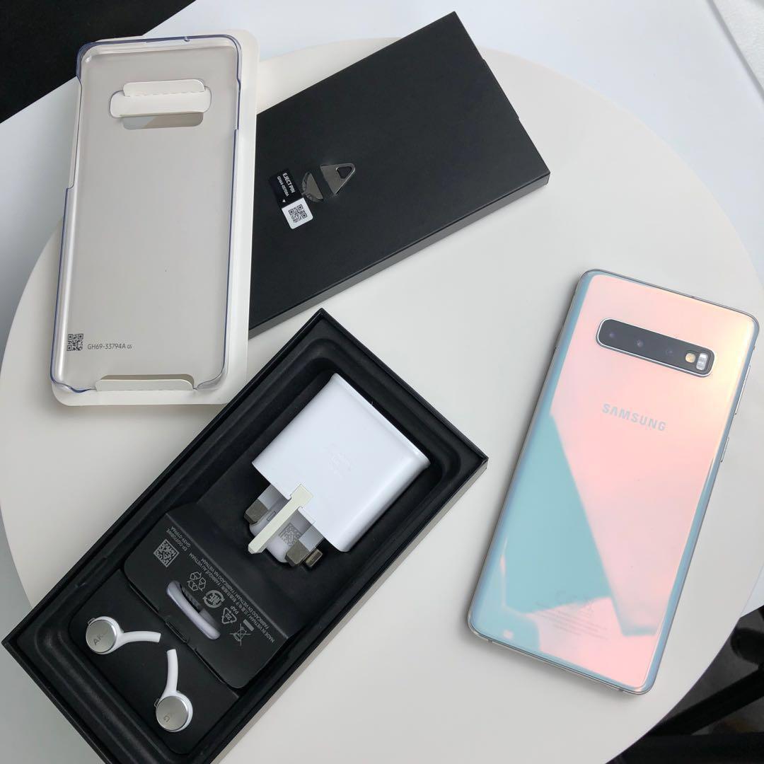 Samsung Galaxy S10 128GB White Mint Receipt Singtel
