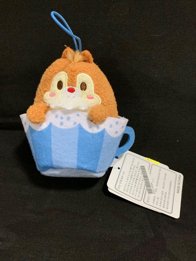 SEGA Plaza Mini Tsum Tsum Dale Plush In Teacup!