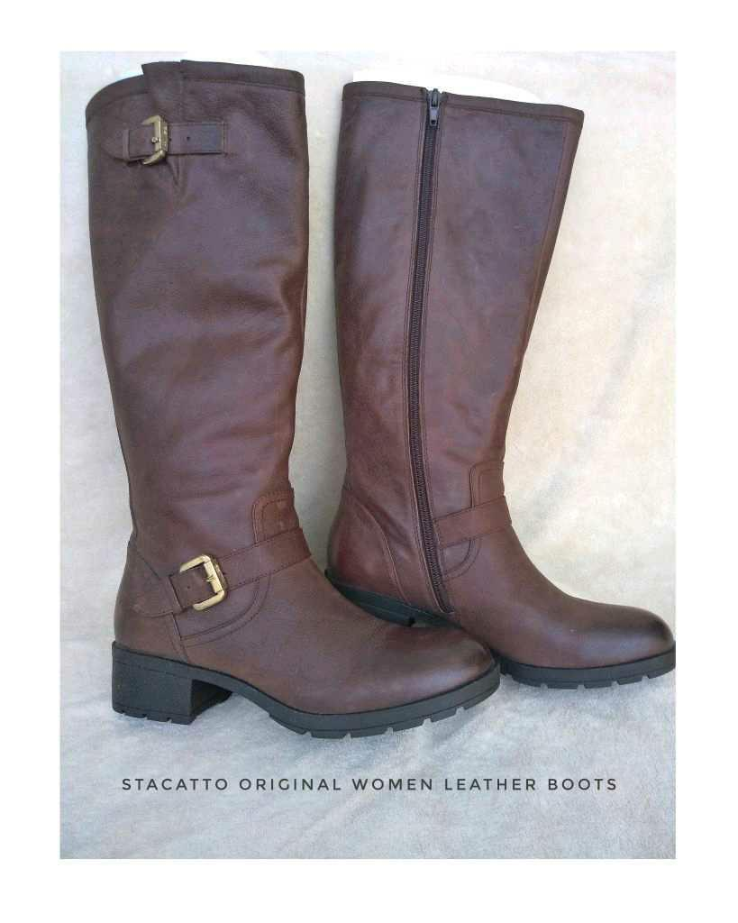 Sepatu Boots Wanita original merk stacatto