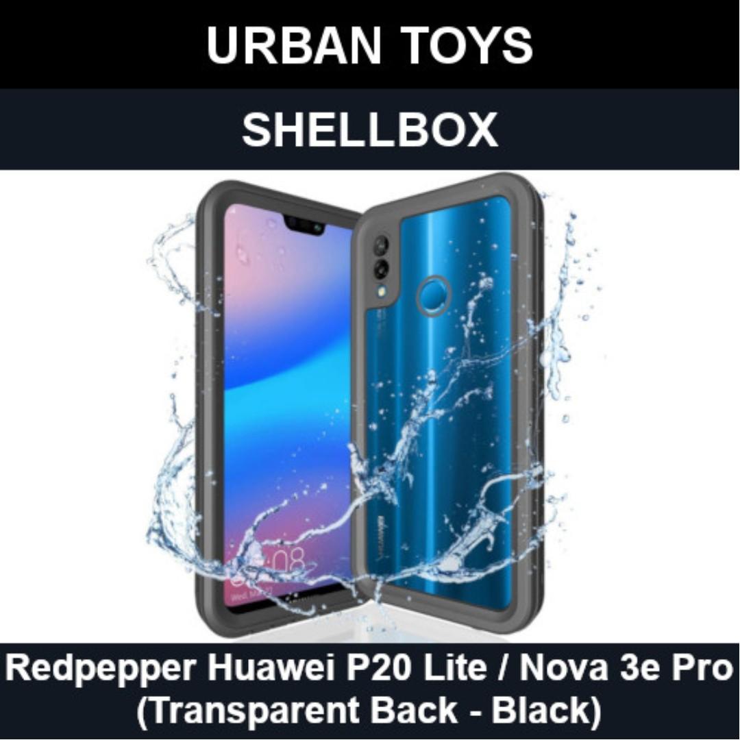 the latest cf3ed 69b92 Shellbox Waterproof Case Huawei P20 Lite/Nova 3e Pro/Black