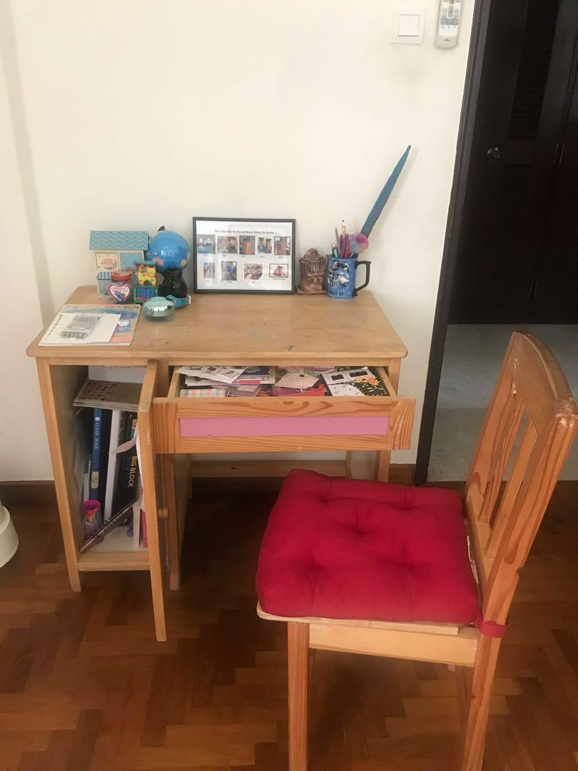 Study Table with chair - FREE