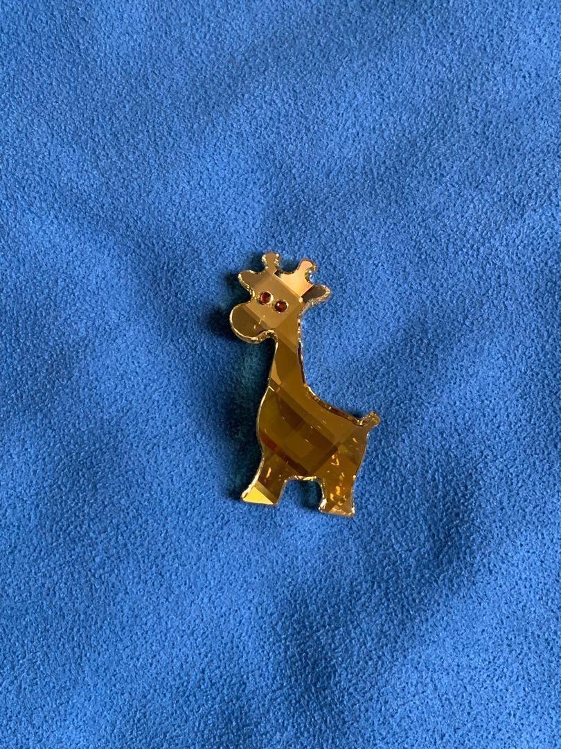SWAROVSKI 水晶 長頸鹿 枱上擺設