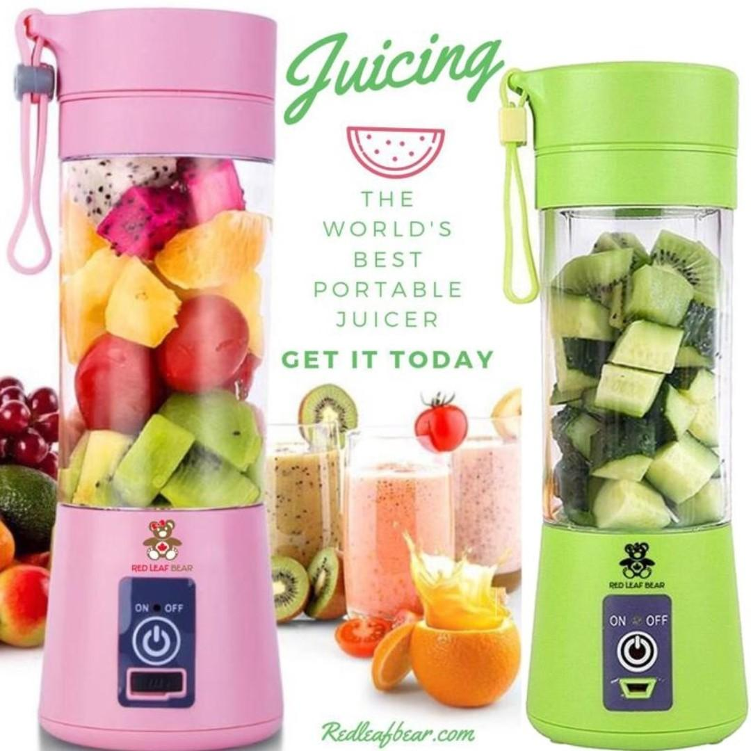 The Original Portable Blender. Blend Anything, Anywhere, Anytime!. Available in 4 Colours
