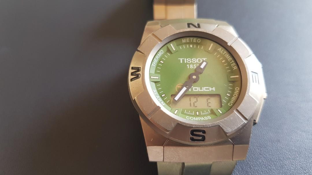 Tissot T Touch Titanium Green Dial