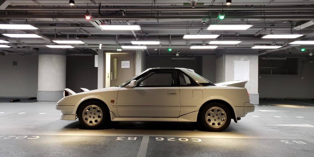 TOYOTA MR2 AW11 1989