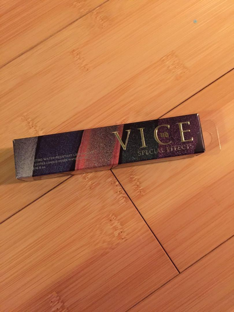 urban decay VICE special effects lip gloss/topper/shimmer in circuit