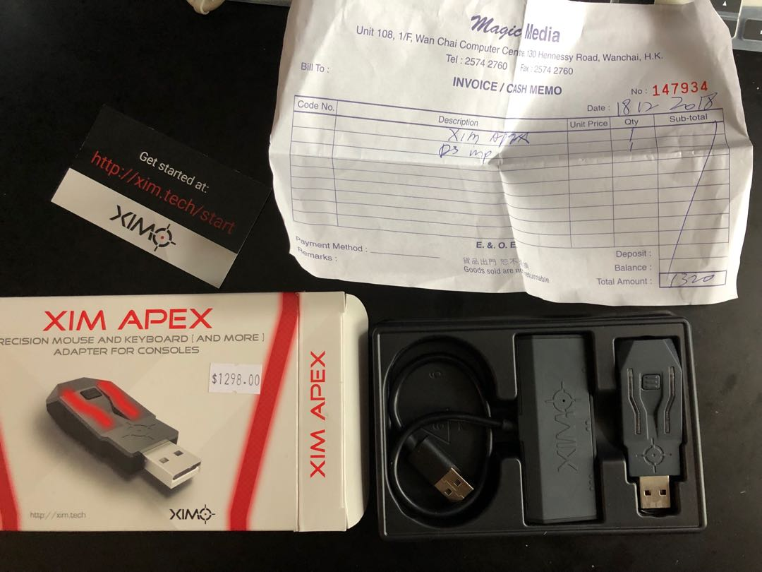 Xim Apex mouse and keyboard adapter for consoles