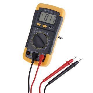 Electrical LCD Digital Multimeter AC DC Voltmeter Ohmmeter Multi Tester
