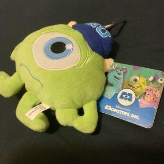 怪獸大學 大眼仔MIKE MU公仔 MONSTER UNIVERSITY 迪士尼 Disney Pixar 毛毛 八達通 散紙包