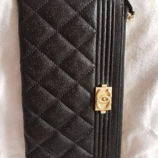 Chanel Long Wallet Boy