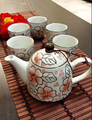 Modern Flower Teapot Set