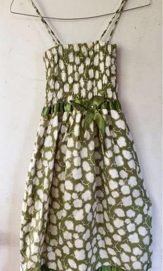 Dress hijau pantai #mauthr
