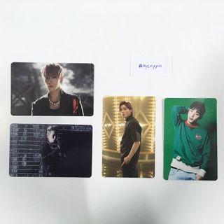 B.A.P BAP Himchan Jongup Japanese press official photocards