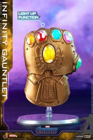 (小心假貨呃訂) Infinity Gauntlet 無限手套 發光 現貨 全新 絕版HOTTOYS COSBABY ht cosbaby the avengers iron man endgame tony thanos nano marvel thanos