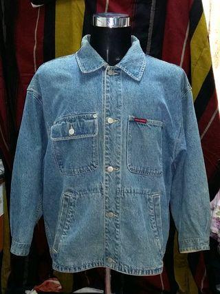 Eddie Bauer Denim Jacket Jeans Trucker