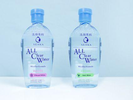 Senka All Clear Micellar Water