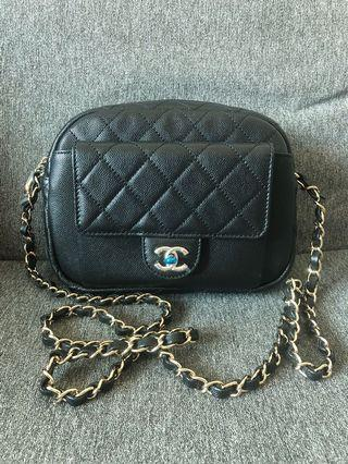 Chanel Camera Bag Black 相機袋 斜揹袋 黑