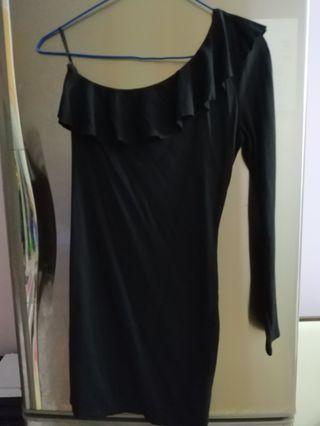 H&M off shoulder evening dress
