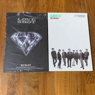 Exo Love Shot Unsealed Album + Poster