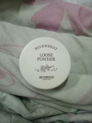 Skinfood buckwheat loose powder