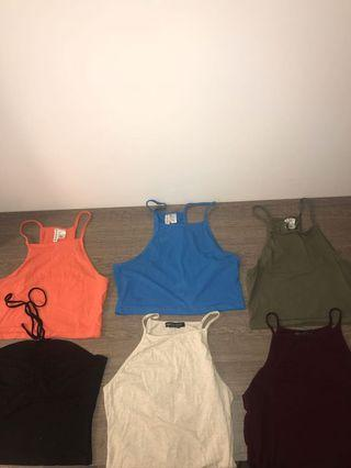 Summer tops for sale. 6 for $30