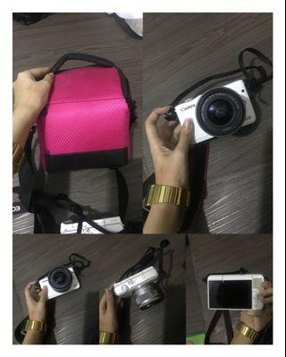 Canon eos m10 like new mulus 100% mirrorless bonus tempat