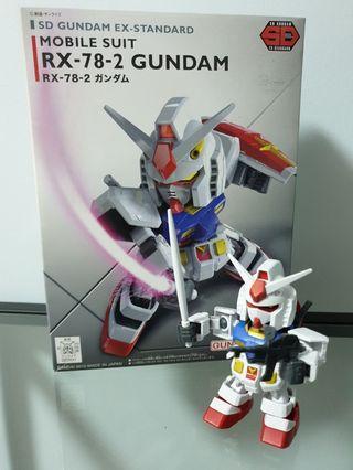 SD Gundam Ex-Standard Mobile Suit RX-78-2