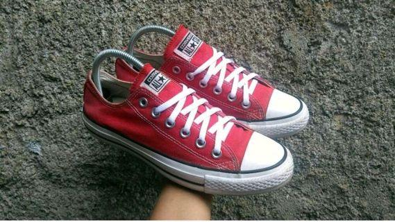 Converse Second Original Size 39 Red