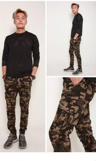 🚚 Camo Jogger Pants