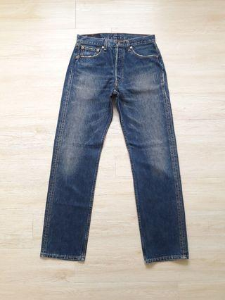 Vintage levis stonewash denim jeans