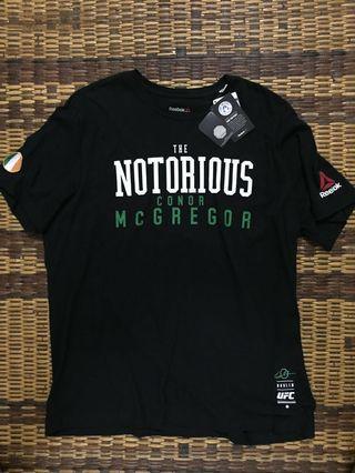 NEW Auth. Reebok UFC 'Conor McGregor' Tshirt
