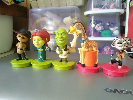 Action figure Shrek by disney