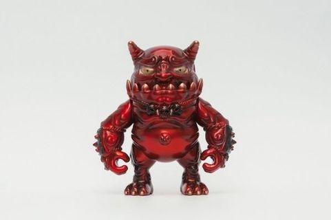 全新未開 Toyzeroplus Demon Craft 匠鬼 紅色電鍍 配色 Sofubi Vinyl