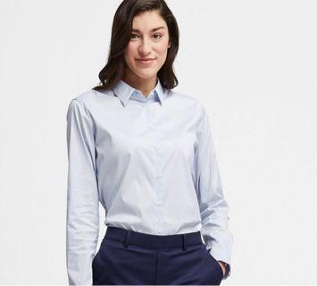Uniqlo Long Sleeve Button Blouse