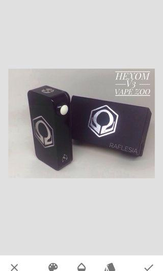 Hexom V3 Black, vapezoo,