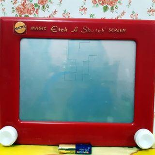 Magic Etch a sketch Screen