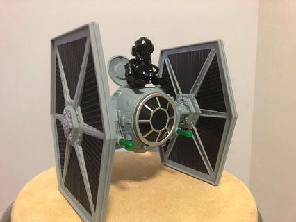 Star Wars Electronic Tie Fighter Disney exclusive Toybox