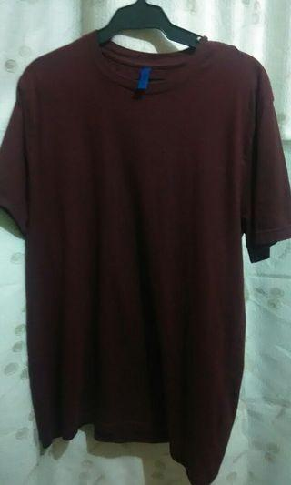 2 Pieces H&M Red Shirt